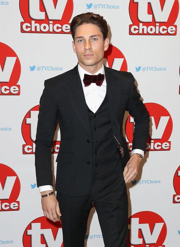 Joey Essex arrives for the TV Choice Awards at The Dorchester on September 5, 2016 in London, England. (Photo by Chris Jackson/Getty Images)