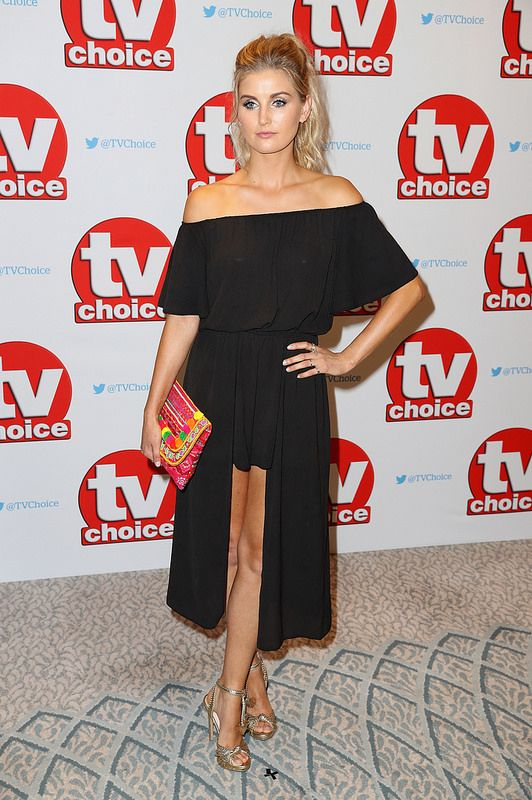 Sophie Powles arrives for the TV Choice Awards at The Dorchester on September 5, 2016 in London, England. (Photo by Chris Jackson/Getty Images)