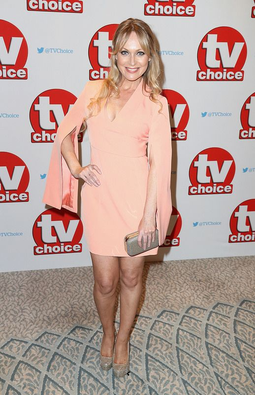 Michelle Hardwick arrives for the TV Choice Awards at The Dorchester on September 5, 2016 in London, England. (Photo by Chris Jackson/Getty Images)
