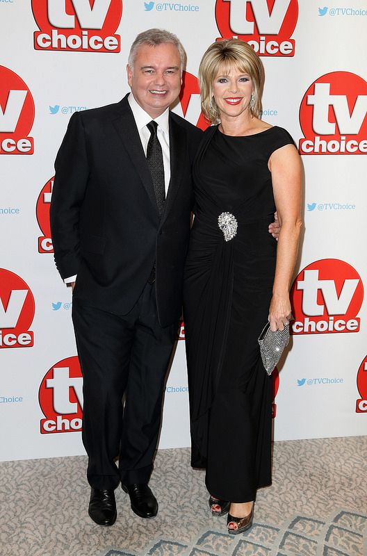 Eamonn Holmes and Ruth Langsford arrive for the TV Choice Awards at The Dorchester on September 5, 2016 in London, England. (Photo by Chris Jackson/Getty Images)