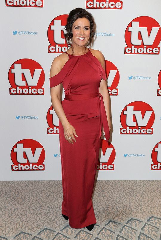 Susanna Reid arrives for the TV Choice Awards at The Dorchester on September 5, 2016 in London, England. (Photo by Chris Jackson/Getty Images)