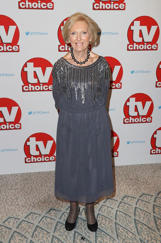 Mary Berry arrives for the TV Choice Awards at The Dorchester on September 5, 2016 in London, England. (Photo by Chris Jackson/Getty Images)