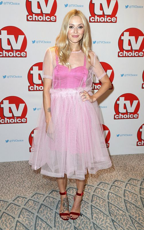 Fearne Cotton arrives for the TV Choice Awards at The Dorchester on September 5, 2016 in London, England. (Photo by Chris Jackson/Getty Images)