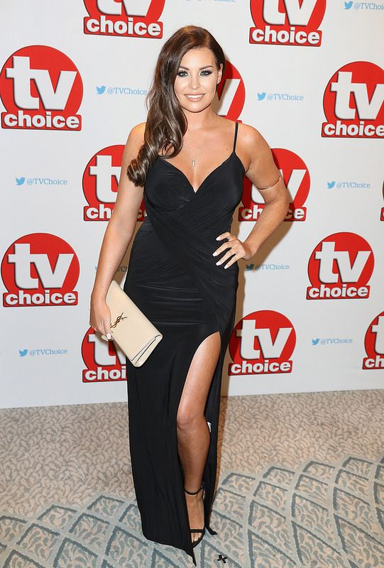 Jessica Wright arrives for the TV Choice Awards at The Dorchester on September 5, 2016 in London, England. (Photo by Chris Jackson/Getty Images)
