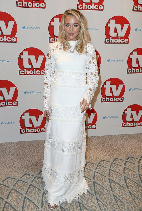 Lydia Rose Bright arrives for the TV Choice Awards at The Dorchester on September 5, 2016 in London, England. (Photo by Chris Jackson/Getty Images)