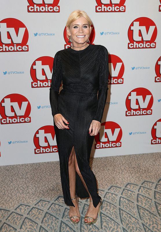 Michelle Collins arrives for the TV Choice Awards at The Dorchester on September 5, 2016 in London, England. (Photo by Chris Jackson/Getty Images)