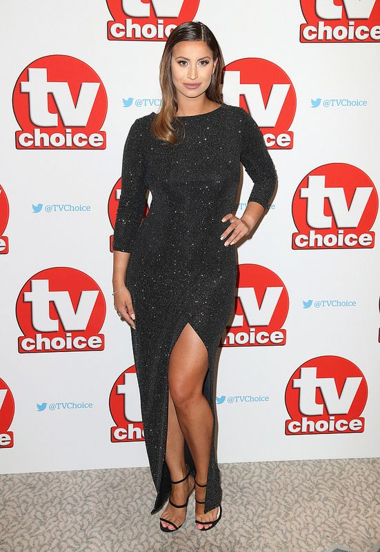 Ferne McCann arrives for the TV Choice Awards at The Dorchester on September 5, 2016 in London, England. (Photo by Chris Jackson/Getty Images)