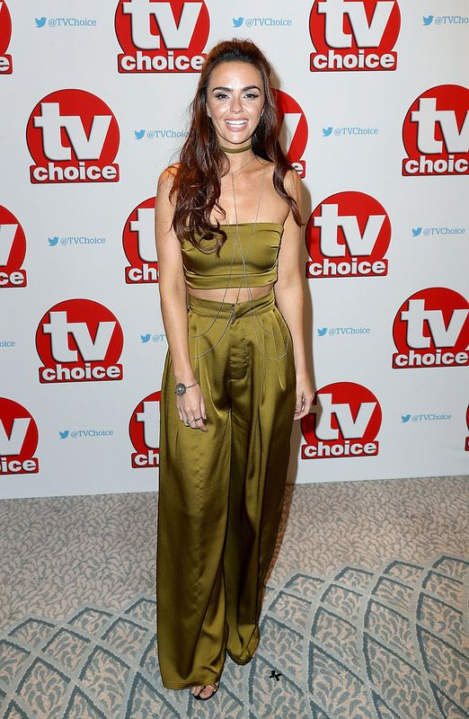 Jennifer Metcalfe arrives for the TV Choice Awards at The Dorchester on September 5, 2016 in London, England. (Photo by Chris Jackson/Getty Images)