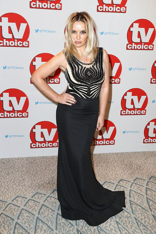 Kierston Wareing arrives for the TV Choice Awards at The Dorchester on September 5, 2016 in London, England. (Photo by Chris Jackson/Getty Images)