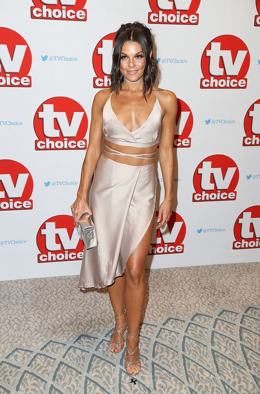 Faye Brookes arrives for the TV Choice Awards at The Dorchester on September 5, 2016 in London, England. (Photo by Chris Jackson/Getty Images)