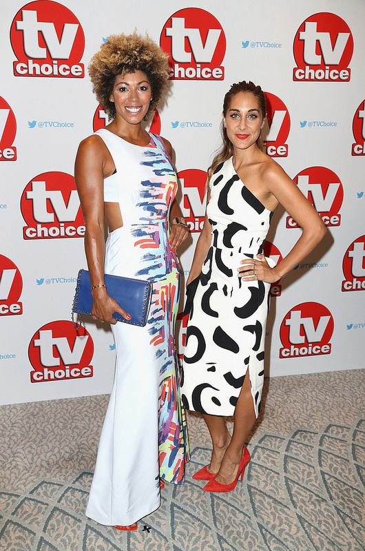Dr Zoe Williams and Dr Sara Kayat arrive for the TV Choice Awards at The Dorchester on September 5, 2016 in London, England. (Photo by Chris Jackson/Getty Images)