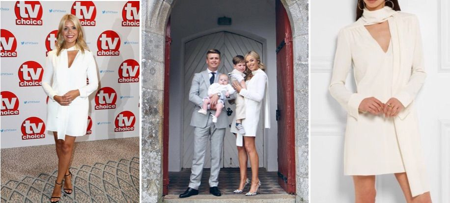 Have you met our new style twins? Holly Willoughby and Pippa O'Connor sport same Net-A-Porter dress