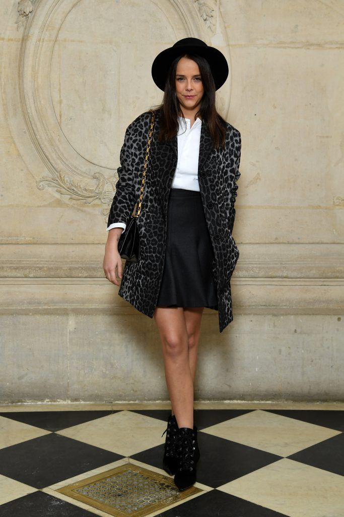 Pauline Ducruet attends the Christian Dior show as part of the Paris Fashion Week Womenswear Fall/Winter 2018/2019 on February 27, 2018 in Paris, France.  (Photo by Pascal Le Segretain/Getty Images for Christian Dior)