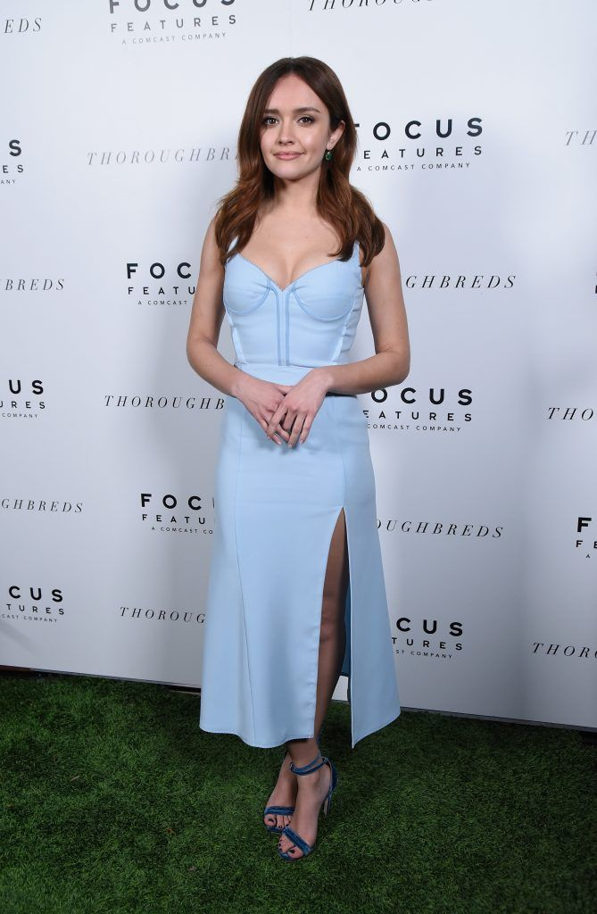 """Actress Olivia Cooke attends the premiere of Focus Features' """"Thoroughbreds"""" at Sunset Marquis Hotel on February 28, 2018 in West Hollywood, California.  (Photo by Michael Tullberg/Getty Images)"""
