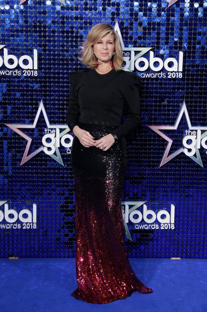 Kate Garraway attends The Global Awards 2018 at Eventim Apollo, Hammersmith on March 1, 2018 in London, England.  (Photo by John Phillips/John Phillips/Getty Images)