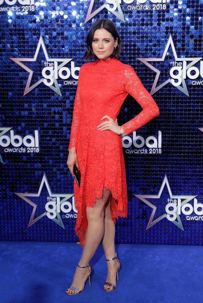 Lilah Parsons attends The Global Awards 2018 at Eventim Apollo, Hammersmith on March 1, 2018 in London, England.  (Photo by John Phillips/John Phillips/Getty Images)