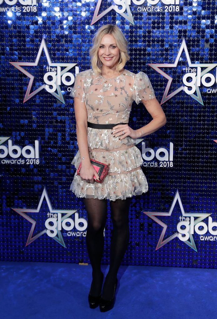 Jenni Falconer attends The Global Awards 2018 at Eventim Apollo, Hammersmith on March 1, 2018 in London, England.  (Photo by John Phillips/John Phillips/Getty Images)