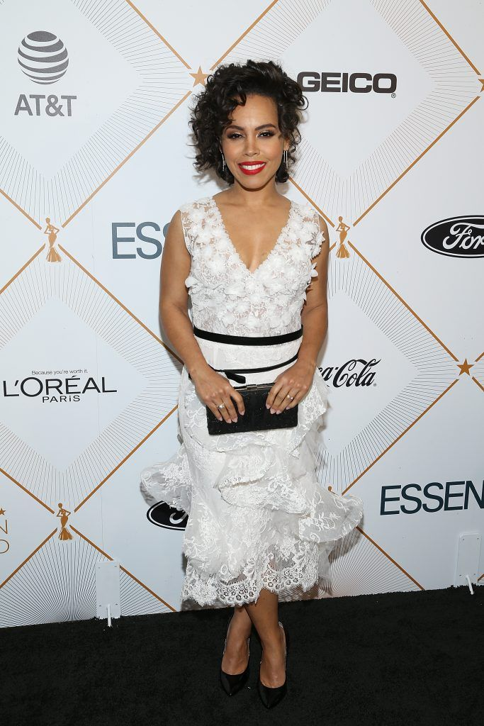 Amirah Vann attends the Essence 11th Annual Black Women In Hollywood Awards Gala at the Beverly Wilshire Four Seasons Hotel on March 1, 2018 in Beverly Hills, California.  (Photo by Phillip Faraone/Getty Images)