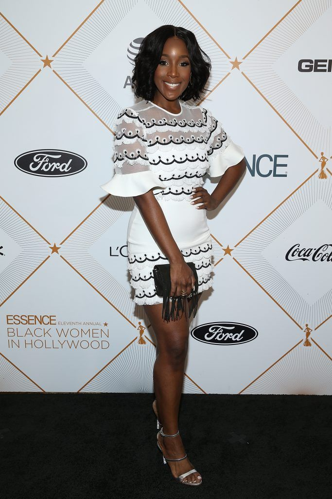 Ashley Blaine attends the Essence 11th Annual Black Women In Hollywood Awards Gala at the Beverly Wilshire Four Seasons Hotel on March 1, 2018 in Beverly Hills, California.  (Photo by Phillip Faraone/Getty Images)