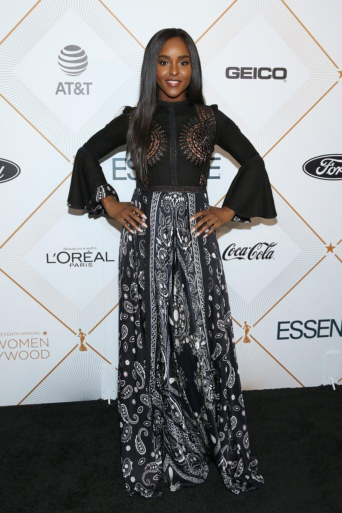 Antoinette Robertson attends the Essence 11th Annual Black Women In Hollywood Awards Gala at the Beverly Wilshire Four Seasons Hotel on March 1, 2018 in Beverly Hills, California.  (Photo by Phillip Faraone/Getty Images)