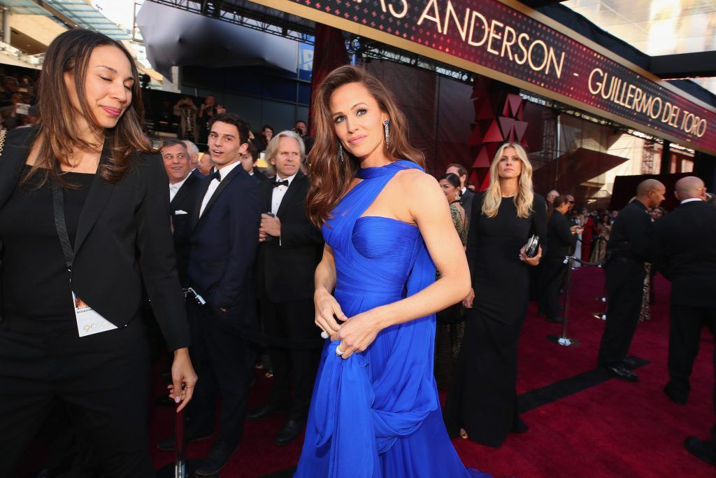 HOLLYWOOD, CA - MARCH 04:  Jennifer Garner attends the 90th Annual Academy Awards at Hollywood & Highland Center on March 4, 2018 in Hollywood, California.  (Photo by Christopher Polk/Getty Images)