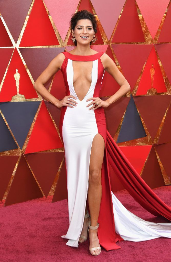 HOLLYWOOD, CA - MARCH 04:  Blanca Blanco attends the 90th Annual Academy Awards at Hollywood & Highland Center on March 4, 2018 in Hollywood, California.  (Photo by Neilson Barnard/Getty Images)