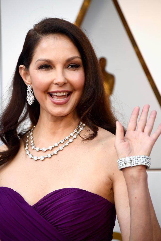 HOLLYWOOD, CA - MARCH 04:  Ashley Judd attends the 90th Annual Academy Awards at Hollywood & Highland Center on March 4, 2018 in Hollywood, California.  (Photo by Frazer Harrison/Getty Images)