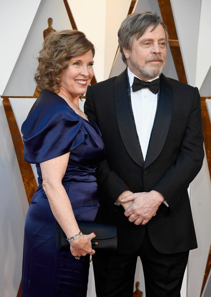 HOLLYWOOD, CA - MARCH 04:  Marilou York (L) and Mark Hamill attend the 90th Annual Academy Awards at Hollywood & Highland Center on March 4, 2018 in Hollywood, California.  (Photo by Frazer Harrison/Getty Images)
