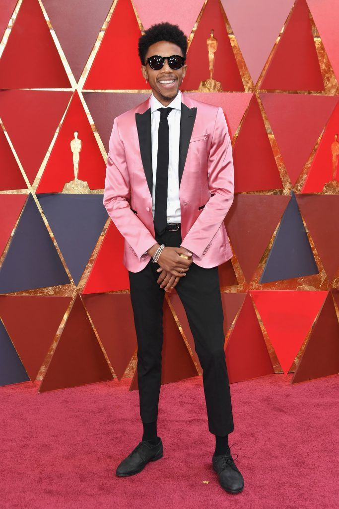 HOLLYWOOD, CA - MARCH 04:  Darrell Britt-Gibson attends the 90th Annual Academy Awards at Hollywood & Highland Center on March 4, 2018 in Hollywood, California.  (Photo by Neilson Barnard/Getty Images)