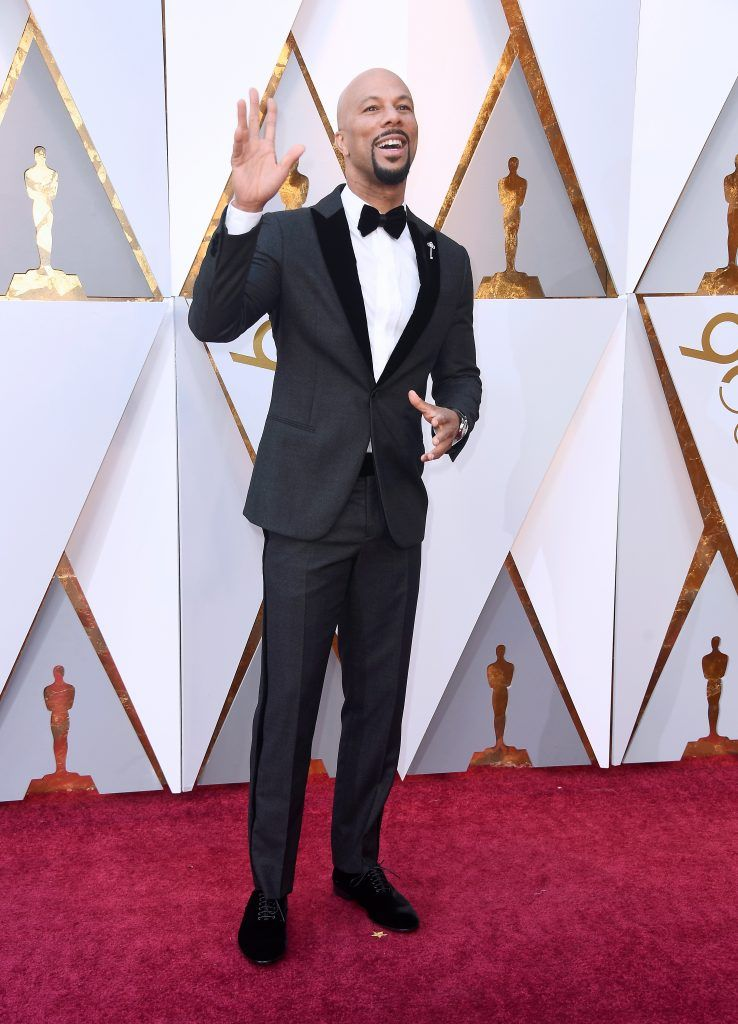 HOLLYWOOD, CA - MARCH 04:  Common attends the 90th Annual Academy Awards at Hollywood & Highland Center on March 4, 2018 in Hollywood, California.  (Photo by Frazer Harrison/Getty Images)
