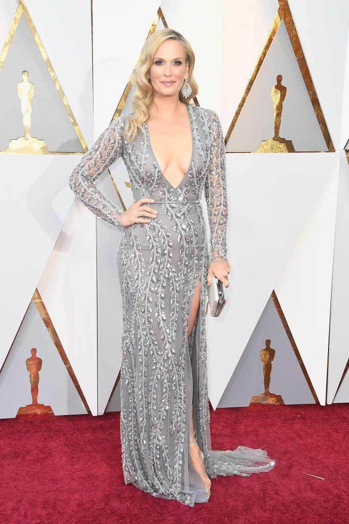 HOLLYWOOD, CA - MARCH 04:  Molly Sims attends the 90th Annual Academy Awards at Hollywood & Highland Center on March 4, 2018 in Hollywood, California.  (Photo by Frazer Harrison/Getty Images)