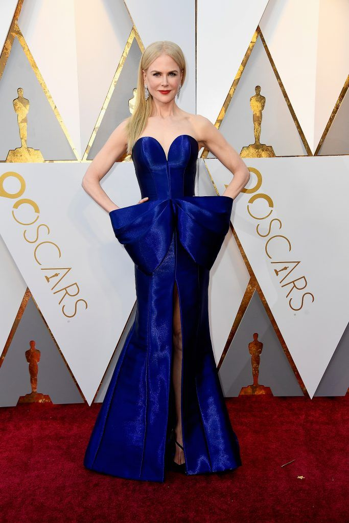 HOLLYWOOD, CA - MARCH 04:  Nicole Kidman attends the 90th Annual Academy Awards at Hollywood & Highland Center on March 4, 2018 in Hollywood, California.  (Photo by Frazer Harrison/Getty Images)