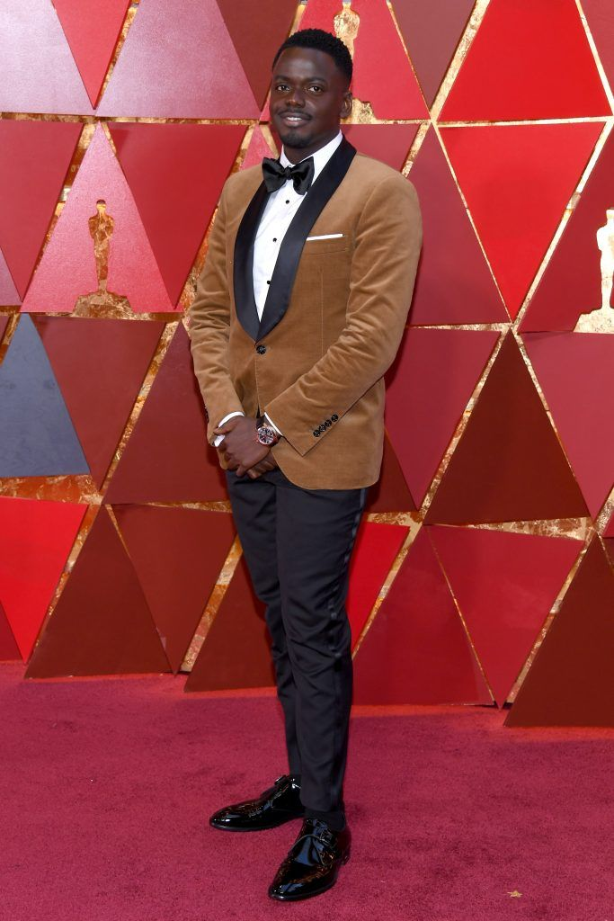 HOLLYWOOD, CA - MARCH 04:  Daniel Kaluuya attends the 90th Annual Academy Awards at Hollywood & Highland Center on March 4, 2018 in Hollywood, California.  (Photo by Kevork Djansezian/Getty Images)