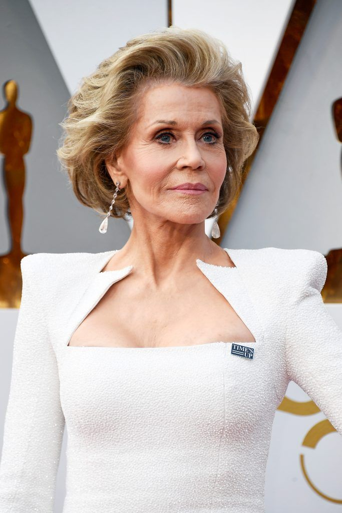 HOLLYWOOD, CA - MARCH 04:  Jane Fonda attends the 90th Annual Academy Awards at Hollywood & Highland Center on March 4, 2018 in Hollywood, California.  (Photo by Frazer Harrison/Getty Images)