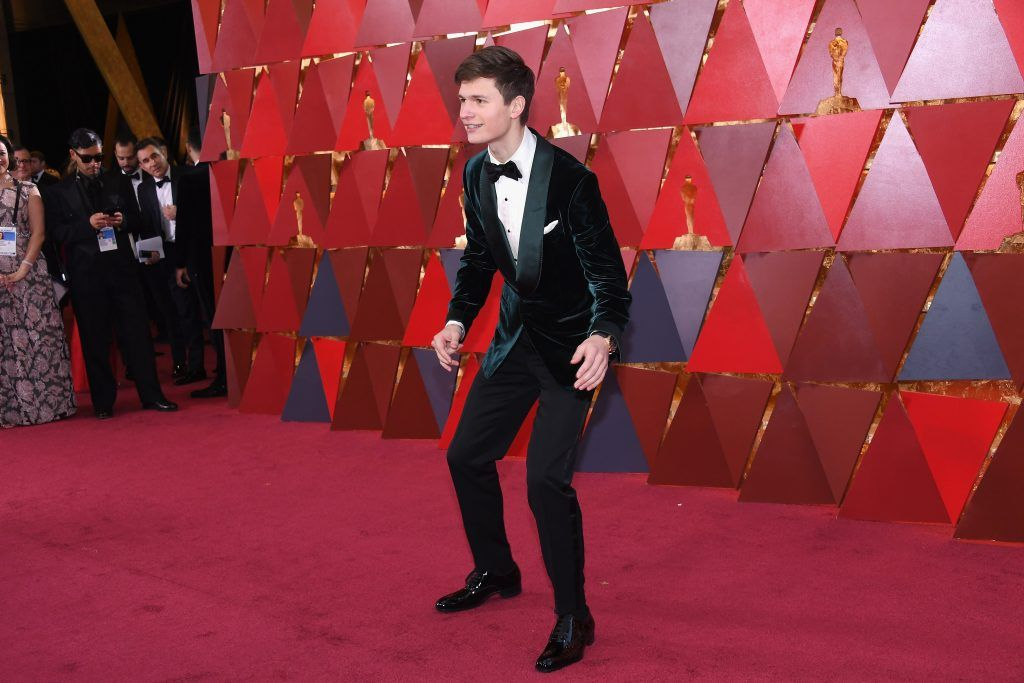 HOLLYWOOD, CA - MARCH 04:  Ansel Elgort attends the 90th Annual Academy Awards at Hollywood & Highland Center on March 4, 2018 in Hollywood, California.  (Photo by Kevork Djansezian/Getty Images)