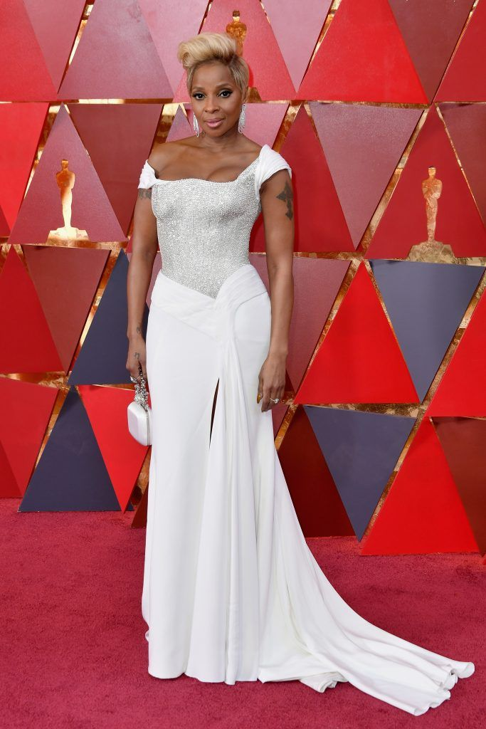 HOLLYWOOD, CA - MARCH 04: Mary J. Blige attends the 90th Annual Academy Awards at Hollywood & Highland Center on March 4, 2018 in Hollywood, California.  (Photo by Neilson Barnard/Getty Images)