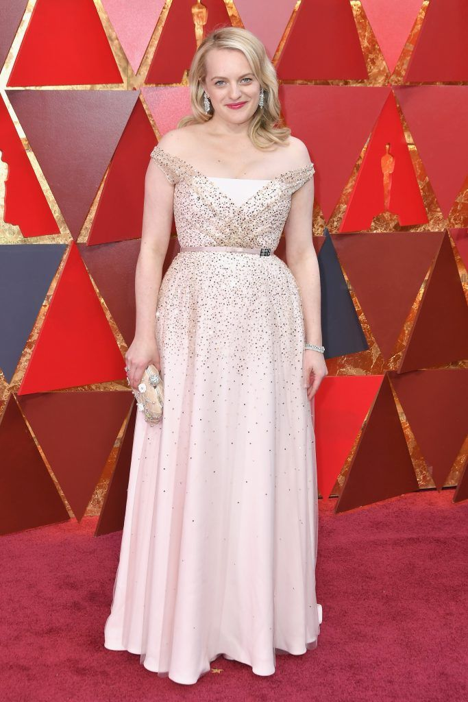 HOLLYWOOD, CA - MARCH 04:  Elisabeth Moss attends the 90th Annual Academy Awards at Hollywood & Highland Center on March 4, 2018 in Hollywood, California.  (Photo by Neilson Barnard/Getty Images)