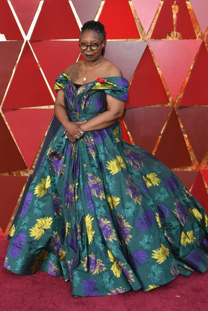 HOLLYWOOD, CA - MARCH 04: Whoopi Goldberg attends the 90th Annual Academy Awards at Hollywood & Highland Center on March 4, 2018 in Hollywood, California.  (Photo by Neilson Barnard/Getty Images)
