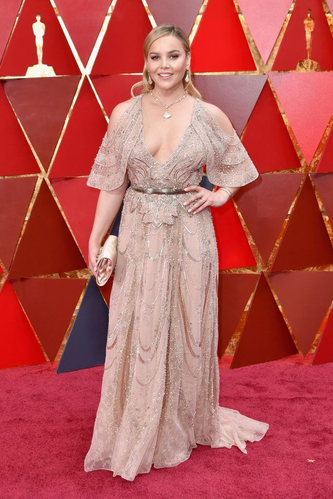 HOLLYWOOD, CA - MARCH 04:  Abbie Cornish attends the 90th Annual Academy Awards at Hollywood & Highland Center on March 4, 2018 in Hollywood, California.  (Photo by Neilson Barnard/Getty Images)
