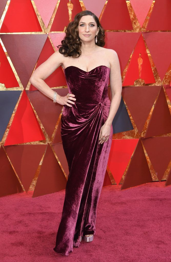 HOLLYWOOD, CA - MARCH 04:  Chelsea Peretti attends the 90th Annual Academy Awards at Hollywood & Highland Center on March 4, 2018 in Hollywood, California.  (Photo by Neilson Barnard/Getty Images)