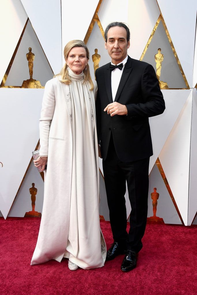 HOLLYWOOD, CA - MARCH 04:  Musician Dominique Lemonnier (L) and composer Alexandre Desplat attend the 90th Annual Academy Awards at Hollywood & Highland Center on March 4, 2018 in Hollywood, California.  (Photo by Frazer Harrison/Getty Images)