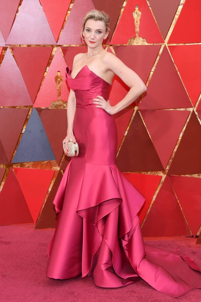 HOLLYWOOD, CA - MARCH 04:  Alexandra Borbely attends the 90th Annual Academy Awards at Hollywood & Highland Center on March 4, 2018 in Hollywood, California.  (Photo by Kevork Djansezian/Getty Images)
