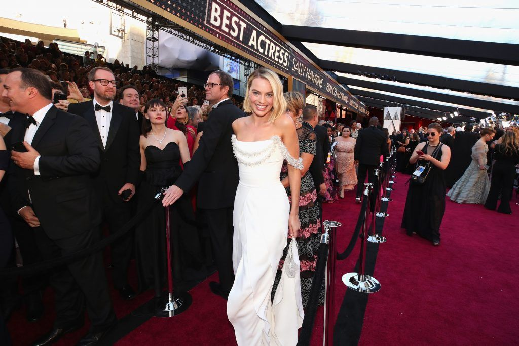 HOLLYWOOD, CA - MARCH 04:  Margot Robbie attends the 90th Annual Academy Awards at Hollywood & Highland Center on March 4, 2018 in Hollywood, California.  (Photo by Christopher Polk/Getty Images)