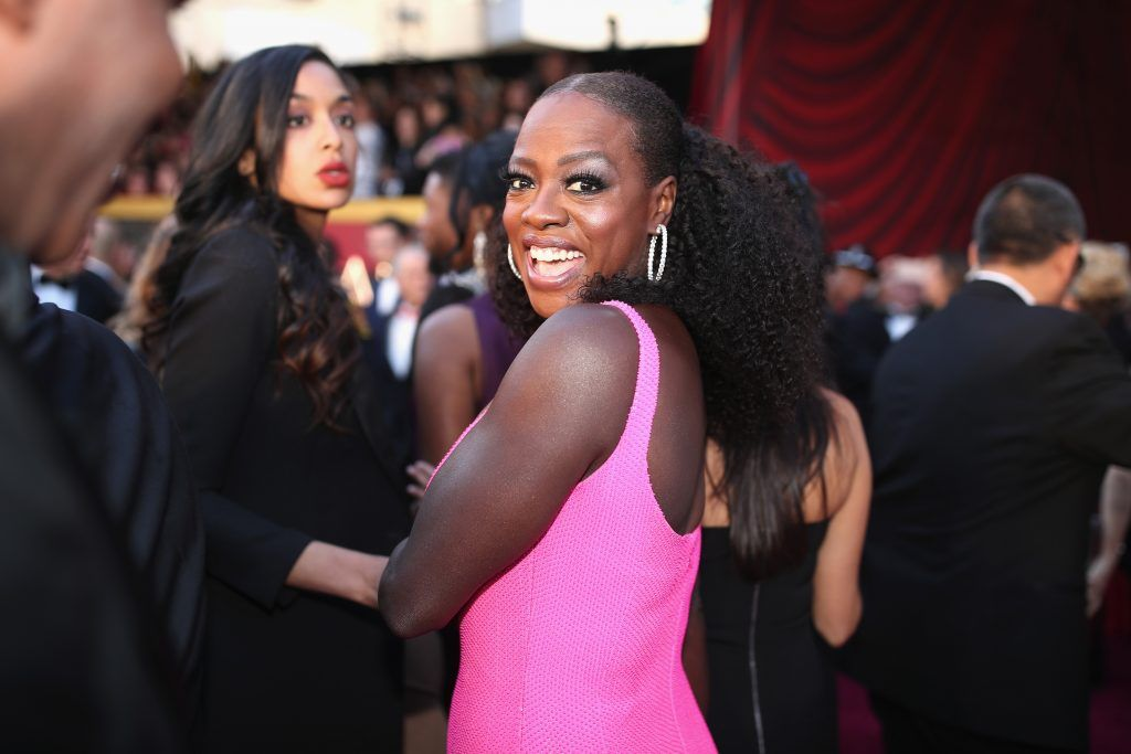 HOLLYWOOD, CA - MARCH 04:  Viola Davis attends the 90th Annual Academy Awards at Hollywood & Highland Center on March 4, 2018 in Hollywood, California.  (Photo by Christopher Polk/Getty Images)