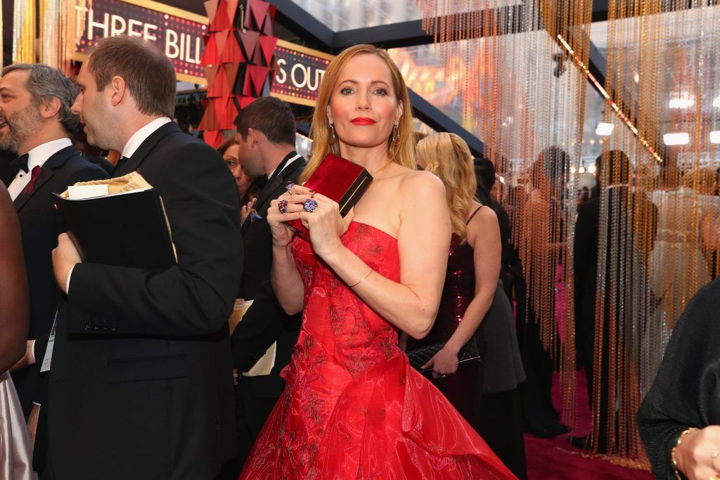 HOLLYWOOD, CA - MARCH 04:  Leslie Mann attends the 90th Annual Academy Awards at Hollywood & Highland Center on March 4, 2018 in Hollywood, California.  (Photo by Christopher Polk/Getty Images)