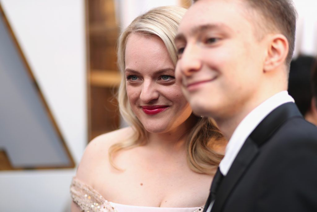 HOLLYWOOD, CA - MARCH 04:  Elisabeth Moss attends the 90th Annual Academy Awards at Hollywood & Highland Center on March 4, 2018 in Hollywood, California.  (Photo by Christopher Polk/Getty Images)