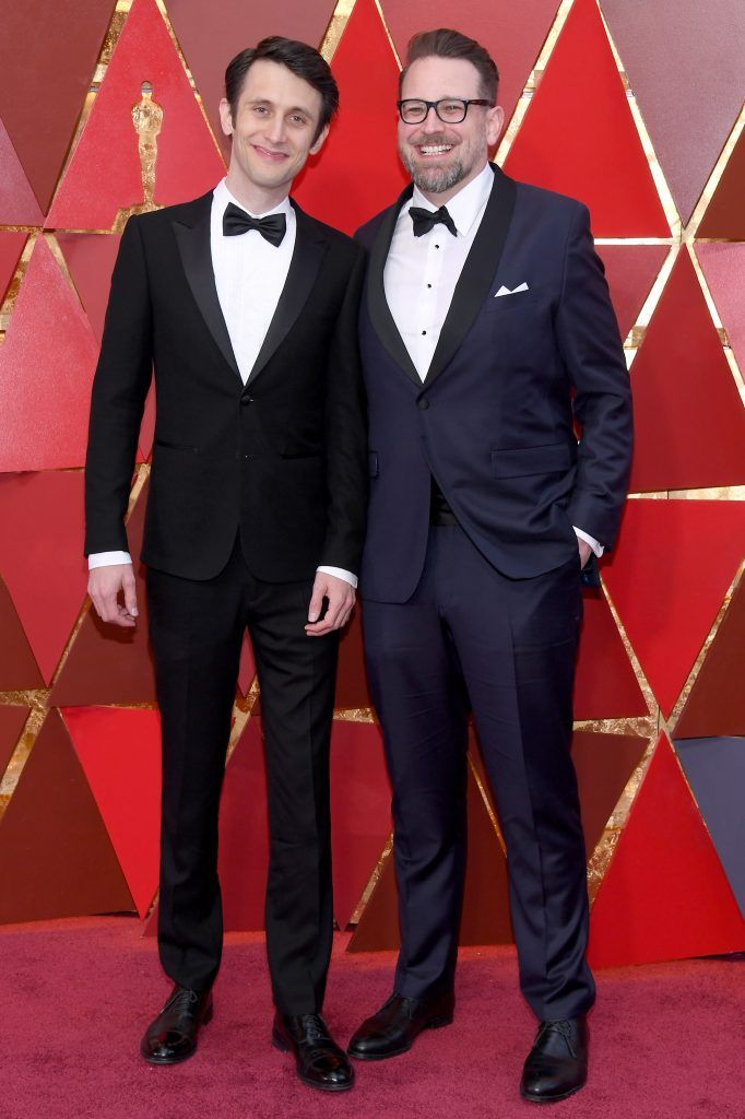 HOLLYWOOD, CA - MARCH 04:  Jan Lachauer (L) and Jakob Schuh attend the 90th Annual Academy Awards at Hollywood & Highland Center on March 4, 2018 in Hollywood, California.  (Photo by Kevork Djansezian/Getty Images)