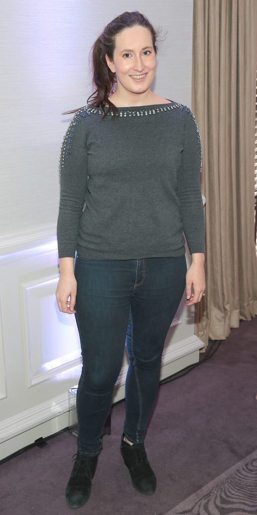 Blathin De Paor pictured at the launch of Clarins Extra Firming at The Westbury Hotel, Dublin. Pic Brian McEvoy