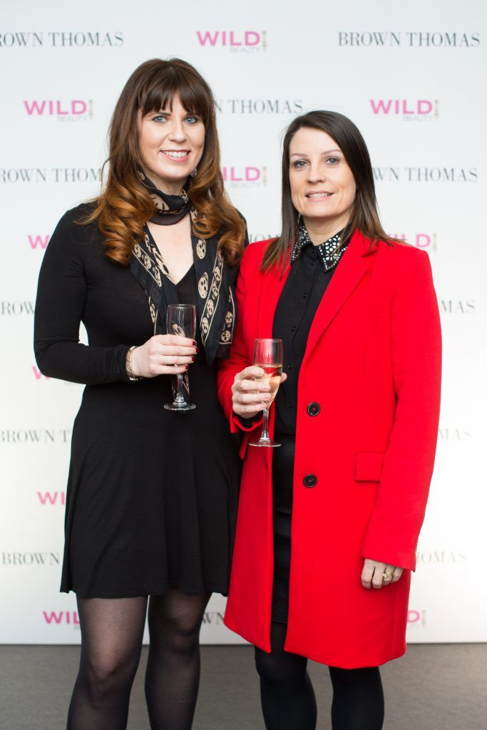Margaret Young & Lorna Byrne pictured at the Brown Thomas Style Masterclass with Courtney Smith on March 7th 2018. Photo: Anthony Woods