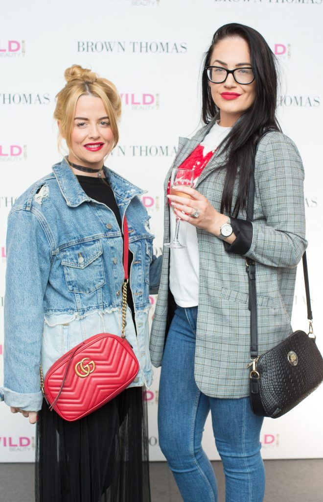 Fiona McDonald & Claire O'Brien pictured at the Brown Thomas Style Masterclass with Courtney Smith on March 7th 2018. Photo: Anthony Woods